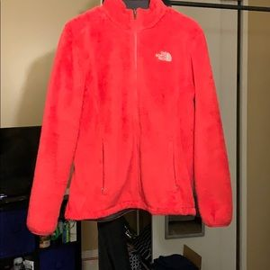 Pink North Face Osito jacket